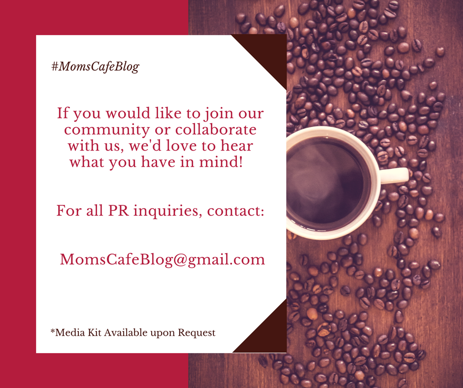 For all PR inquiries, contact momscafeblog@gmail.com
