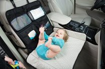 seat organizer with baby